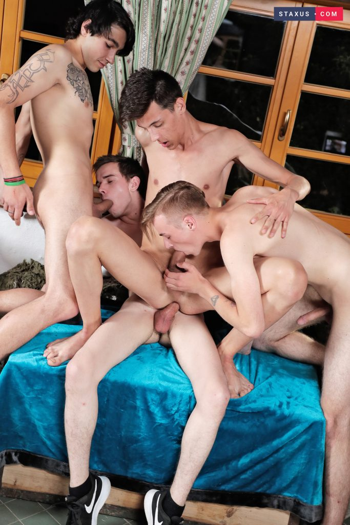Young Voyeur Vitali Kutcher Uncut Cock Twinks Rhys Kogan Raw Outdoor Gay Gang Bang Facials Cumshot Casey Flip Bukkake Boys Blowjob Blonds Bareback Andy Scott Anal Sex 69  Staxus: Dreamy Campers Head Indoors For A Spunk Soaked Foursome! (Casey Flip, Vitali Kutcher, Andy Scott, Rhys Kogan)