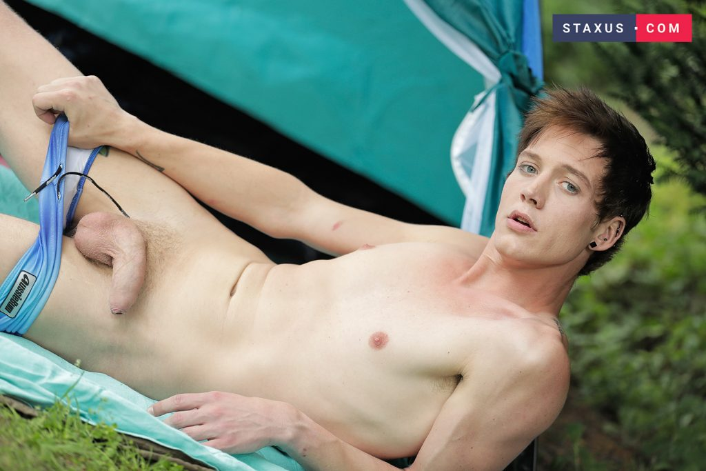 Uncut Dick Twinks Twink Rimming Shaved Raw Outdoor Gay Facials Facial Cumshot Chester Owen Casey Flip Blonds Bareback  Staxus: Cavorting Lovers Head To The Woods For An Ass Busting Bash! (Casey Flip, Chester Owen)