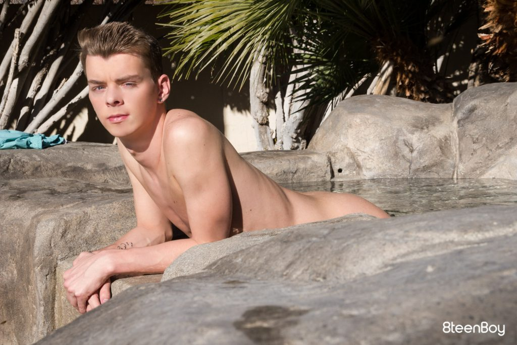 Young Twink Teenboy Teenage Solo Outdoor Masturbation Jerk Off Gay Ethan Helms Boy Blonds Big Dick  8Teenboy: Ethan Helms Solo Session