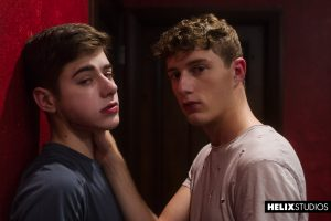 Young Twink Spitting Spanking Rimming Leather Kissing Joey Mills Gay Fetish Facials College Guys Cameron Parks Brunette Boys Bondage Blowjob Big Dick Bareback Anal Sex American  Helix Studios: Virgin Kink (Joey Mills, Cameron Parks)