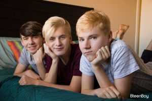 Young Twink Threesome Teens Teenboy Teenage Smooth Kissing Group Sex Gay Facials Caleb Gray Bryce Foster Brunette Boys Blowjob Blonds Big Dick Bareback Anal Sex American Adam Hunt  8Teenboy: The Power of 3 (Caleb Gray, Adam Hunt, Bryce Foster)