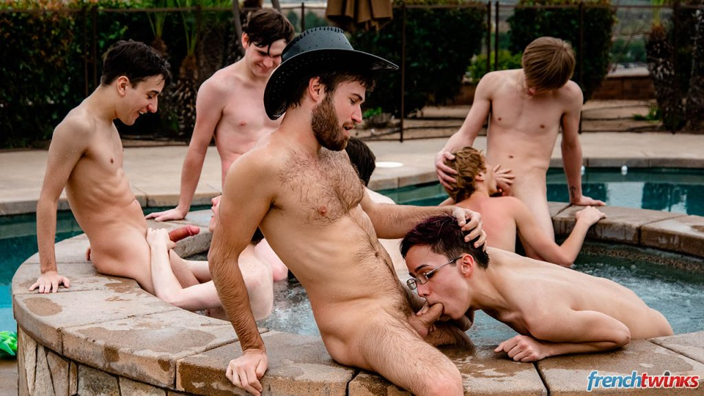 Young Uncut Cocks Twinks Spanking Rimming Masturbation Lucas Bouvier Justin Leroy Jules Laroche Jerk Off Group Sex Gay Gang Bang Felix Maze European Dylan Hart Doryann Marguet Devin Lewis Deep Penetration Cut Dick Cumshot Cole Patrick Boys Blowjob Anal Sex American  French Twinks: The Show Goes Crazy (Devin Lewis, Felix Maze, Dylan Hart, Cole Patrick, Lucas Bouvier, Justin Leroy, Jules Laroche, Doryann Marguet)