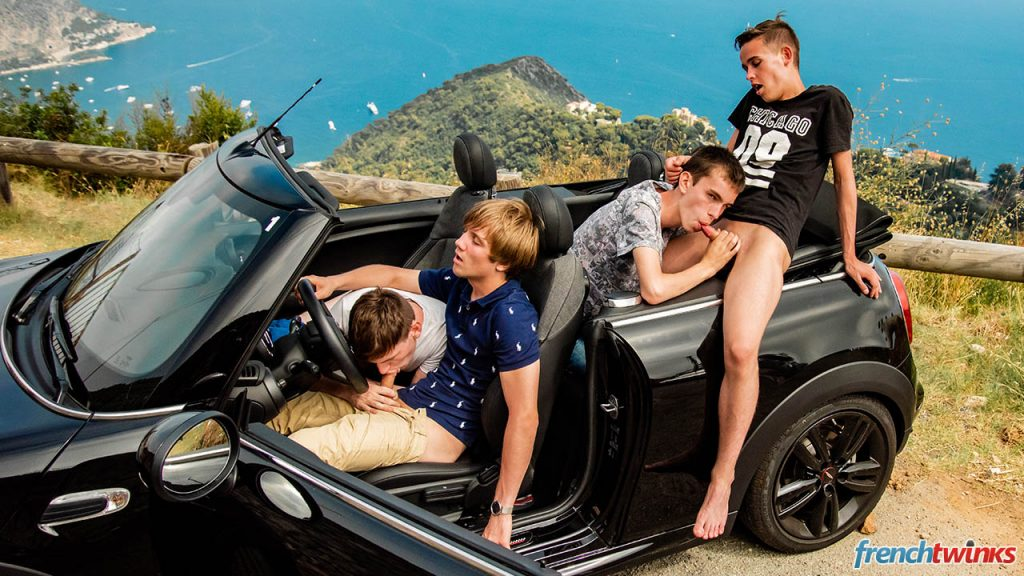 Young Uncut Cock Twinks Twink Teens Smooth Mael Dumas Lucas Bouvier Justin Leroy Group Sex Gay French European Ethan Duval Cumshot Boys Blowjob Big Dick Bareback Anal Sex  French Twinks: Orgy on the French Riviera (Justin Leroy, Lucas Bouvier, Ethan Duval, Mael Dumas)