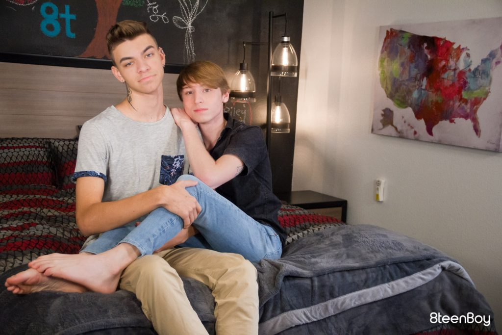Young Twink Teens Teenage Tattoos Rimming Kissing Jock on Twink Jock Jace Myers Gay Chase Williams Brunette Boys Blowjob Big Dick Bareback Anal Sex  8Teenboy: Total Package (Chase Williams, Jace Myers)
