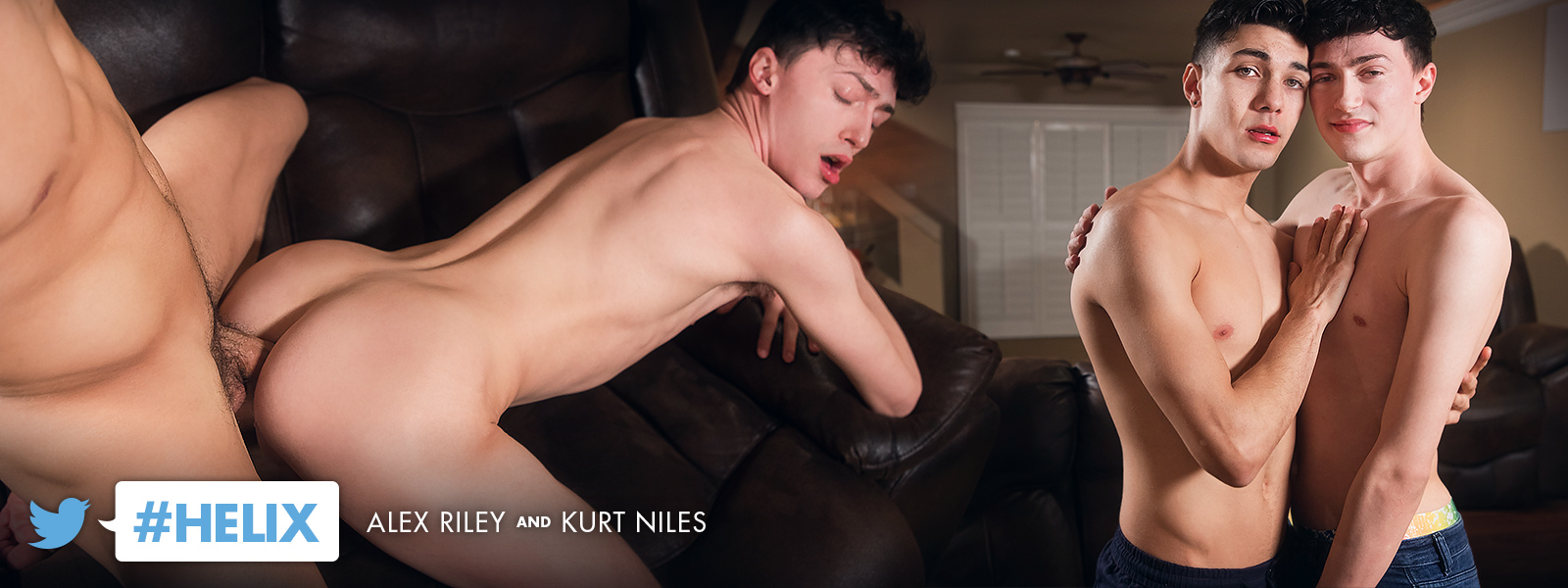 Young Twinks Twink Rimming Kurt Niles Kissing Jock Gay Brunette Boys Blowjob Big Dick Bareback Anal Sex Alex Riley  Helix Studios: #Helix (Kurt Niles, Alex Riley)